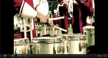 University of Alabama Million Dollar Band 2012 Pre-Game Entrance