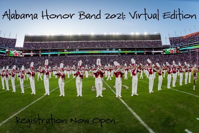 Alabama Honor Band 2021: Virtual Edition